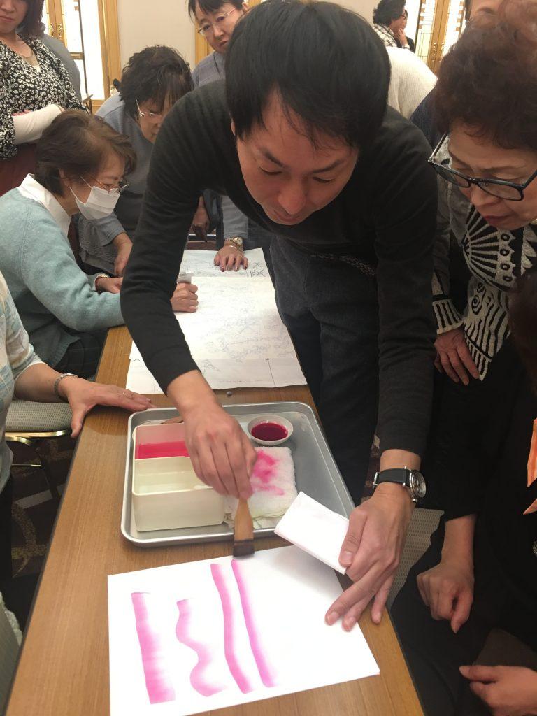 加賀友禅 前田健治 全日本着付け技能センター パーソナルきものスタイリスト 華やかで品のあるキモノ 相模原市着付け教室提案