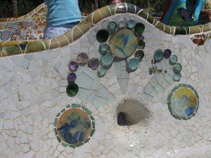 グエル公園  キモノワールドライフ スペインで着物
