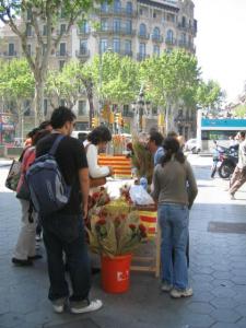 バルセロナ カタルーニャ サンジョルディ 着物スタイリング キモノワールドライフ 相模原市橋本着付け教室