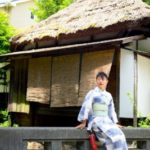 kimono fotoseción Kamakura