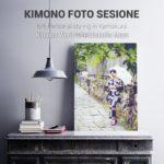 Sesión de fotografía en kimono