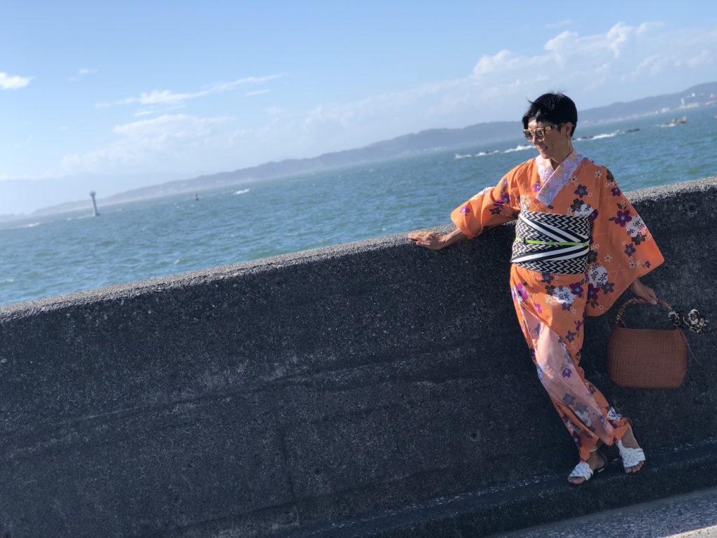 葉山 着物DE撮影会 フォトセッション キモノワールドライフ