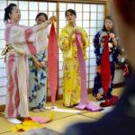 桜美林大学 海外留学生 浴衣講習会 淵野辺 キモノワールドライフ