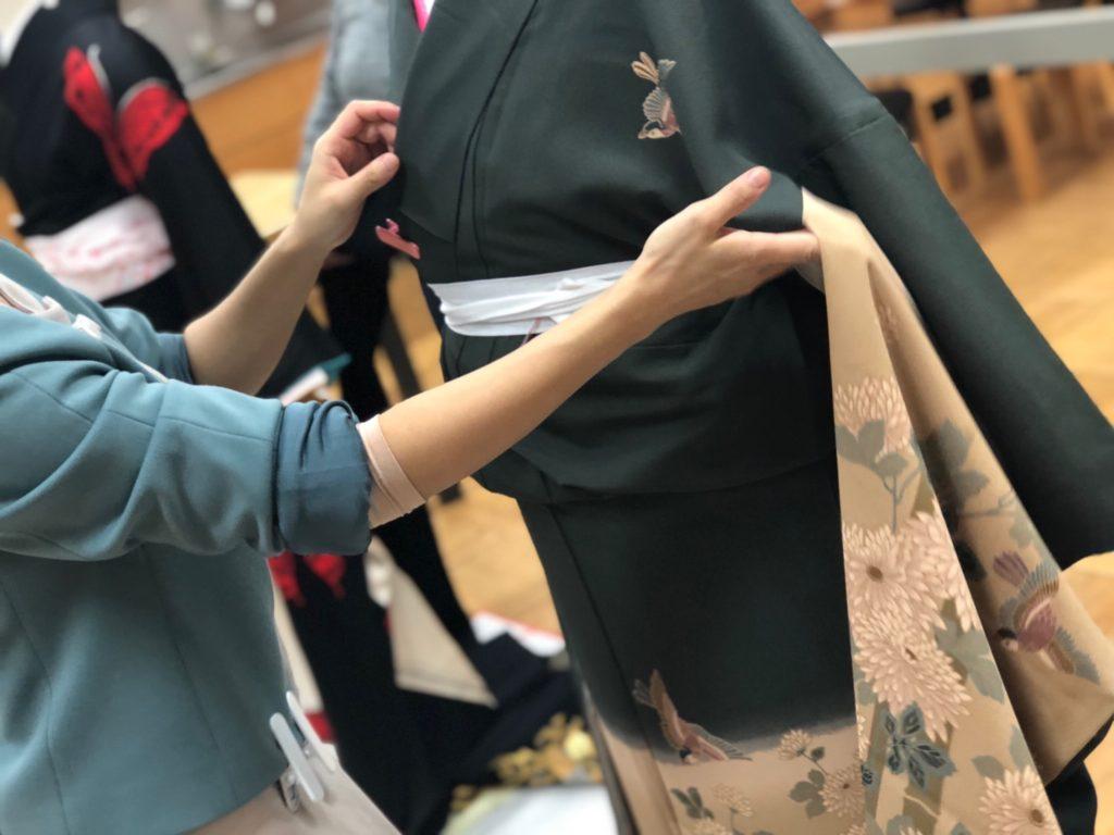 振袖研修会 相模原市 東京都多摩 キモノワールドライフ