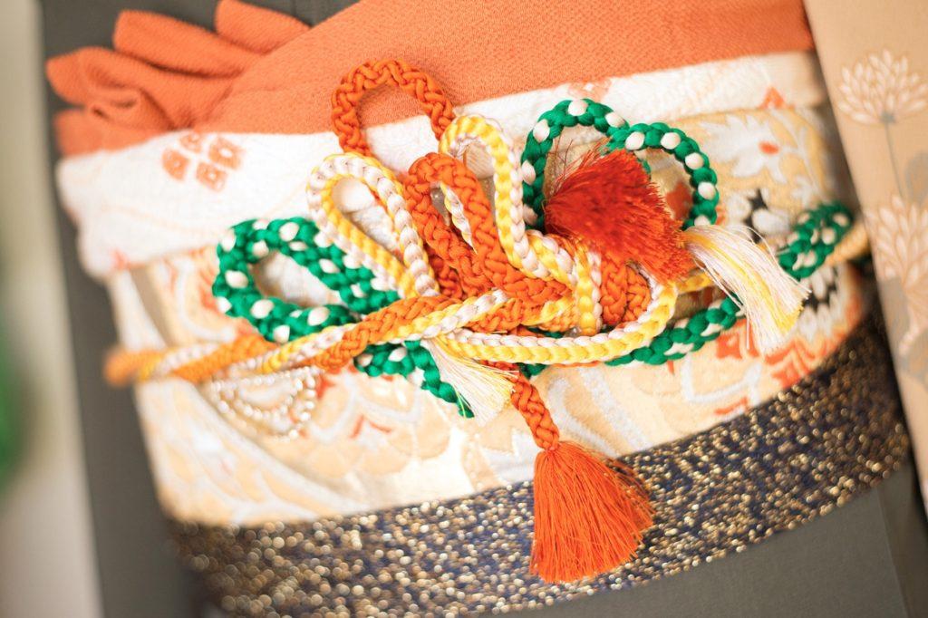 成人式帯揚げ帯締め結び 振袖アレンジ