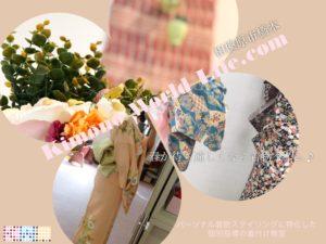 お花見着物 春の着物 着付け教室 相模原市橋本 多摩地区