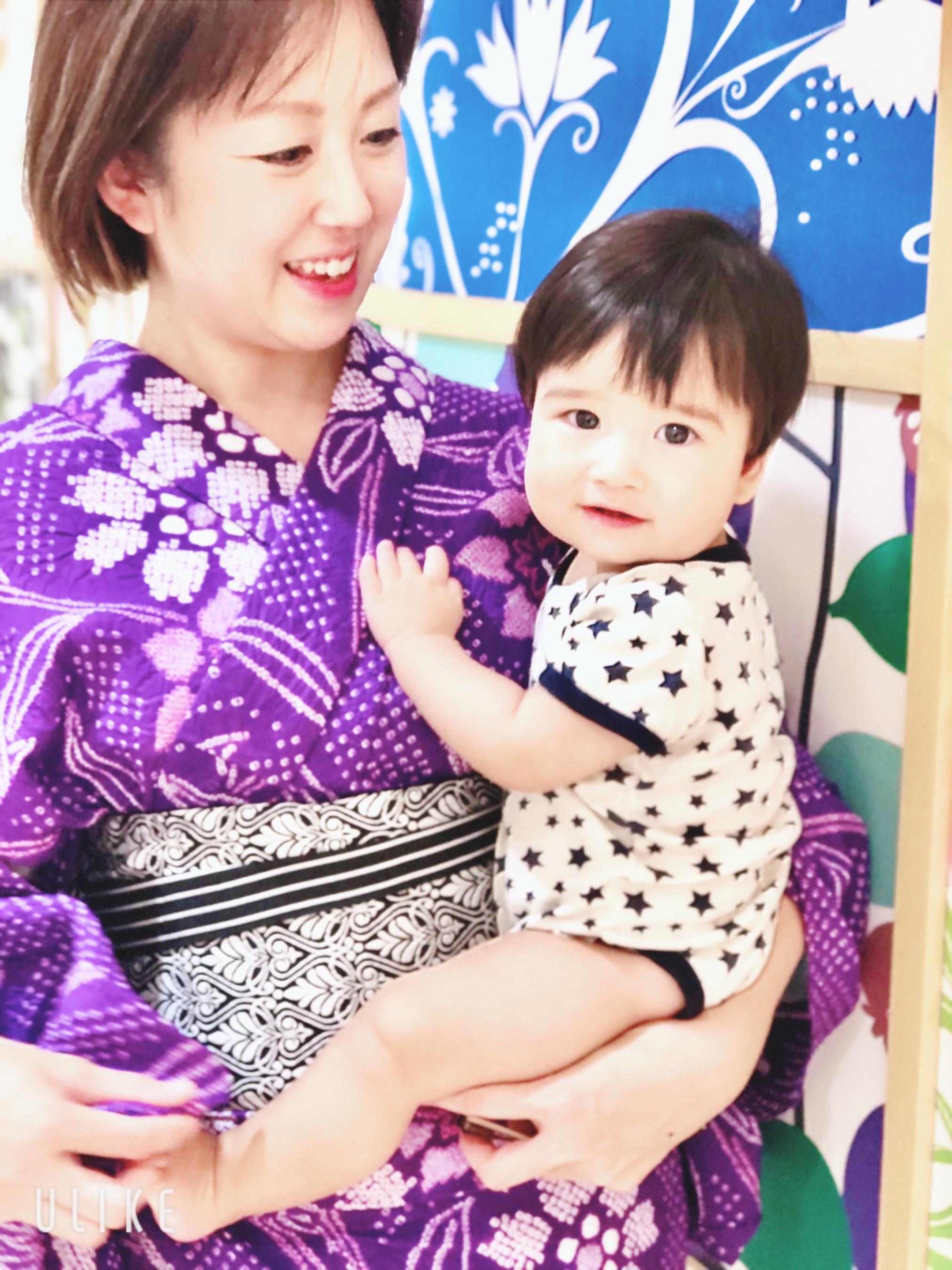 着物と赤ちゃん 相模原市 多摩地区 着付け教室